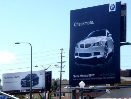 BMW calls checkmate