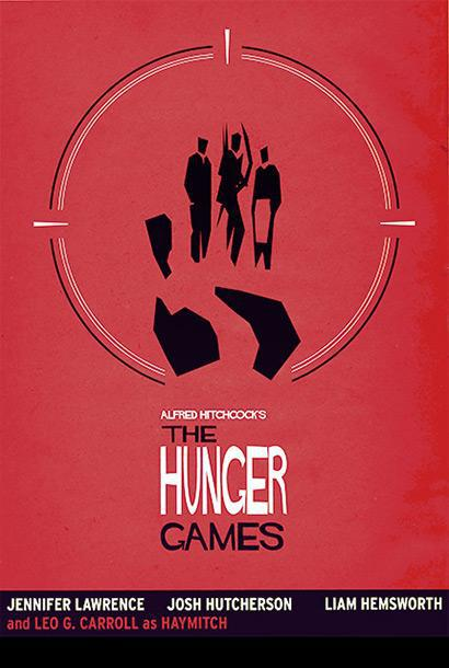 The Hunger Games Alfred Hitchcock parody