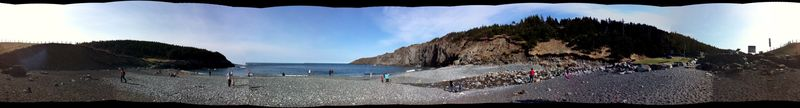 Middle Cove panorama