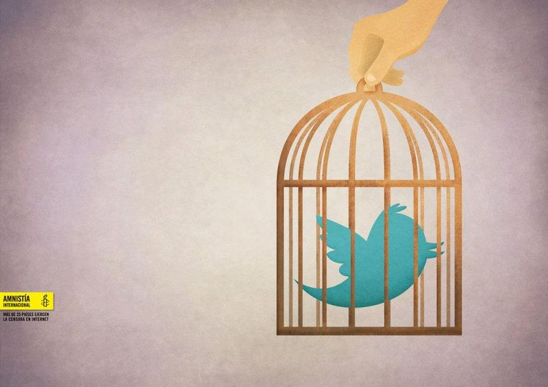 Amnesty International Twitter censorship