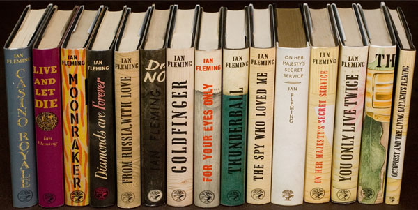 Ian Fleming books
