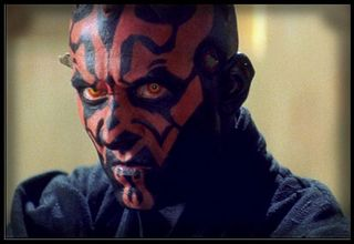Darth Maul closeup tattoo