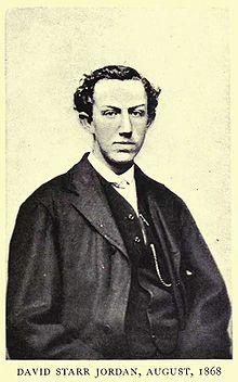 David Starr Jordan 1868