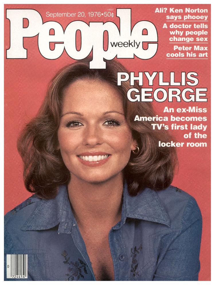 Phyllis George People magazine 1976