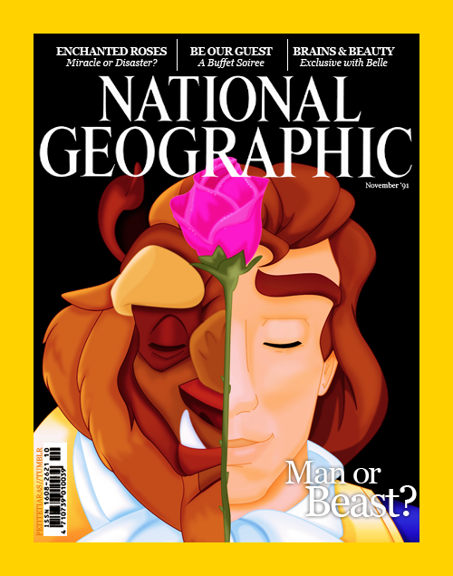 National Geographic Man or beast disney princes