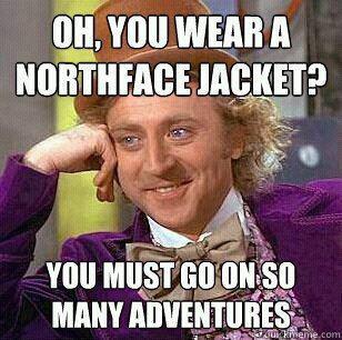 Willy Wonka Northface weheartit
