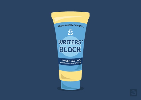 Writers' block spf