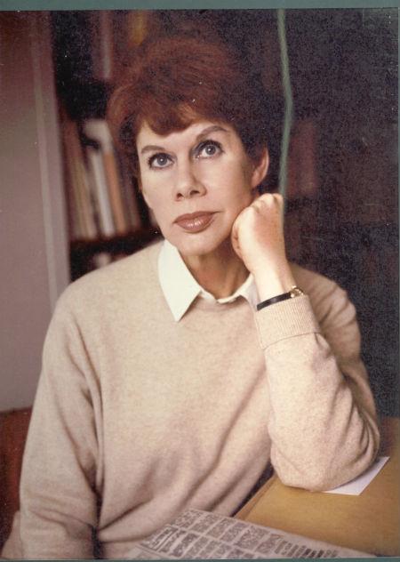 Anita Brookner thinking