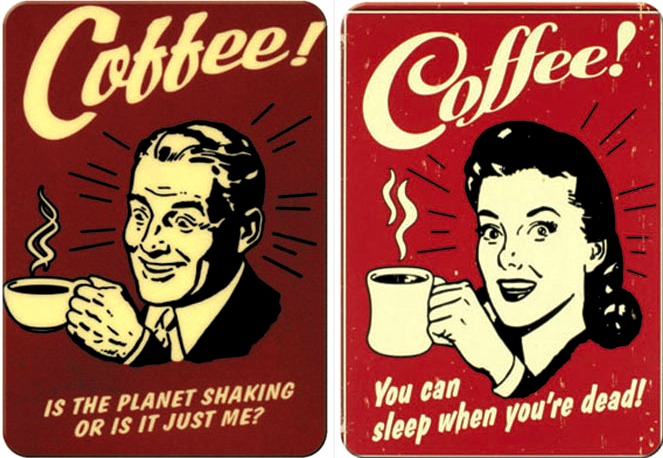 Coffee is the planet shaking