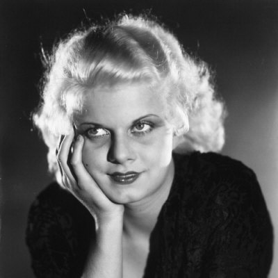 Mae West thinking and smiling