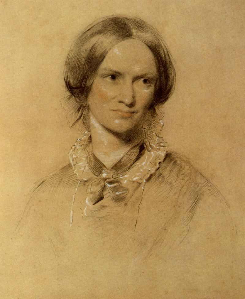 Charlotte Bronte illustration