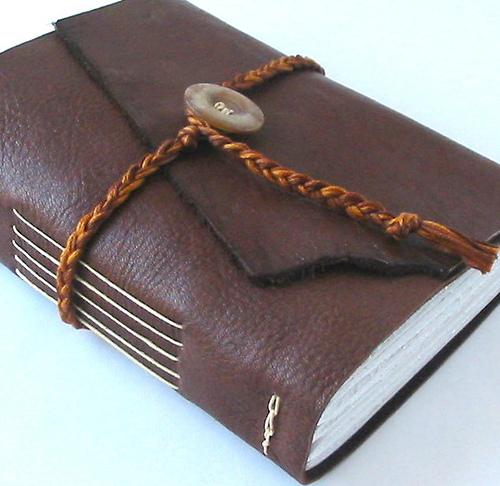 Bound diary