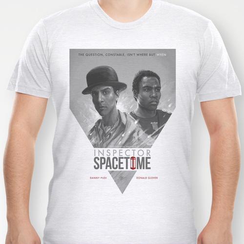 Inpector Spacetime Community Troy Abed Sam Spratt