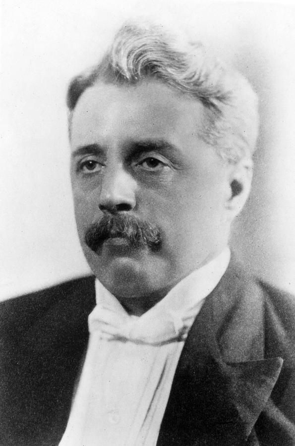 Arnold Bennett in formal wear
