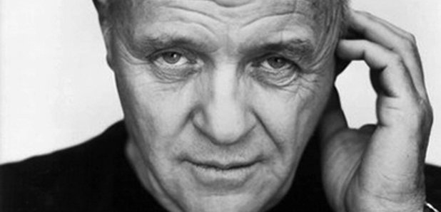 Anthony Hopkins hand to head