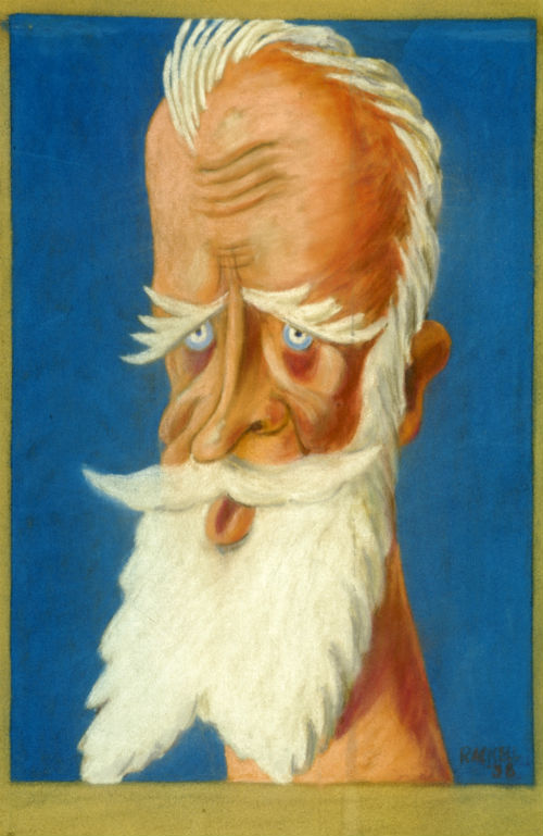 George Bernard Shaw illustration reduced