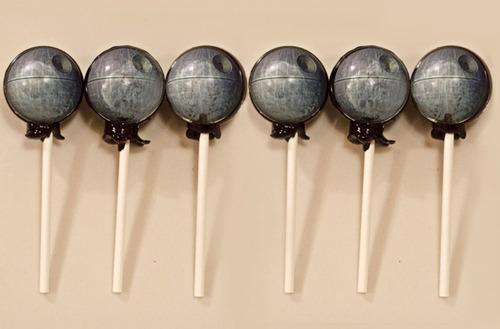 Death Star lollipops