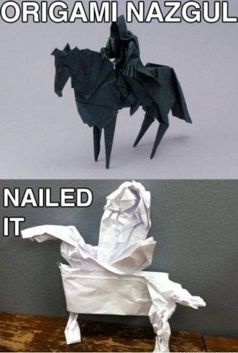 Origama nailed it craftfail