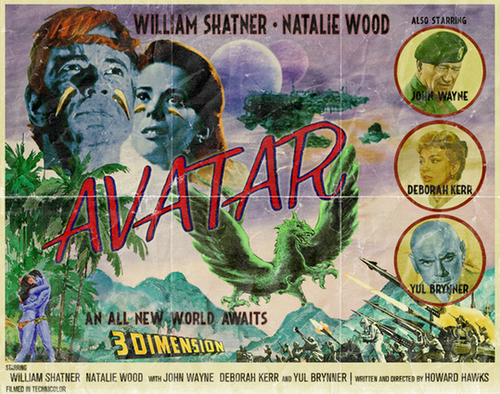 Avatar parody with William Shatner and Natalie Wood