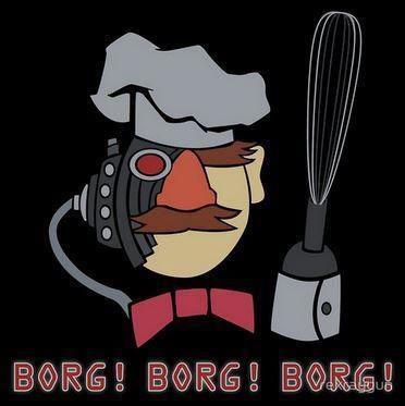 Swedish Chef Borg Star Trek