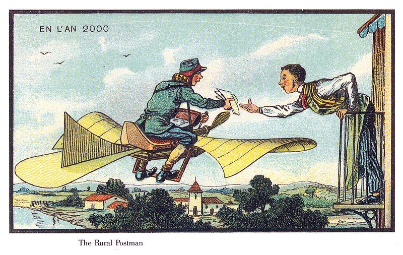 The Rural Postman publicdomainreview