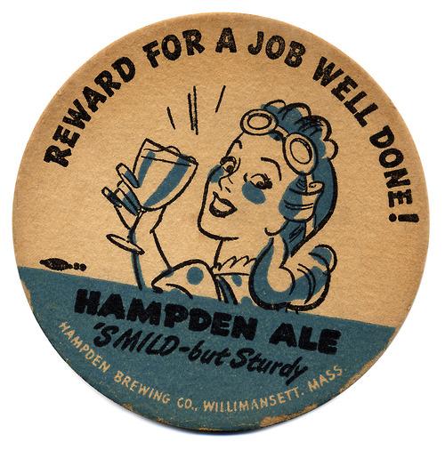 Reward for a job well done Hampden Ale