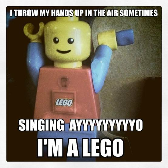 Ayyo I'm a lego