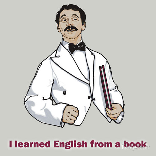 I Learned English from a Book Manuel