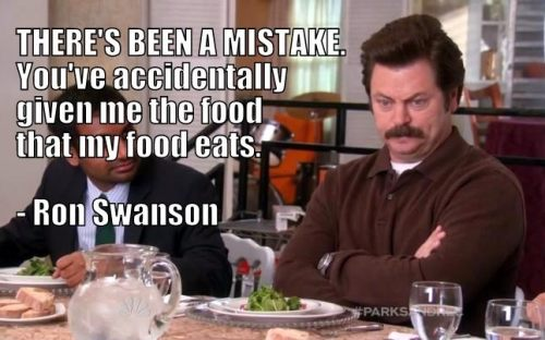 There's been a mistake Ron Swanson