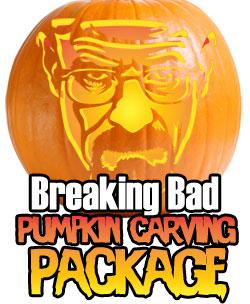 Breaking Bad pumpkin stencil
