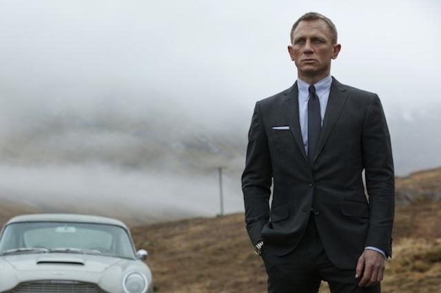 Skyfall Daniel Craig Aston Martin Scotland