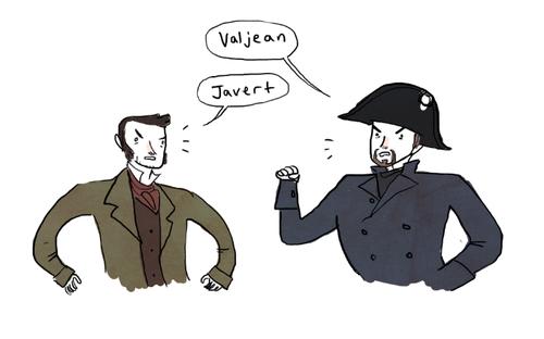 ValJean Javert