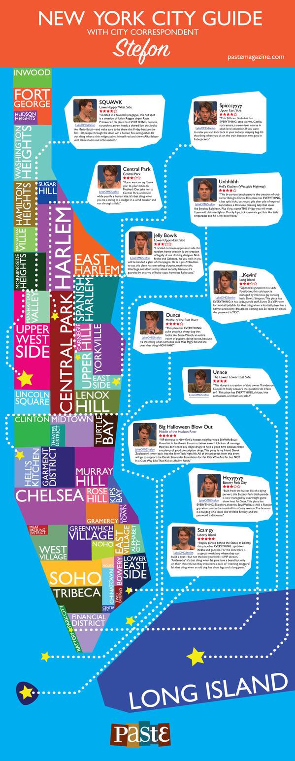 Stefon NYC city guide Paste magazine