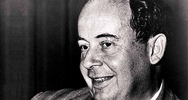 John von Neumann smiling