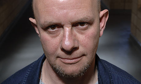 Nick Hornby stare smile