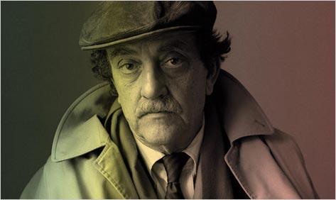 Kurt Vonnegut trenchcoat