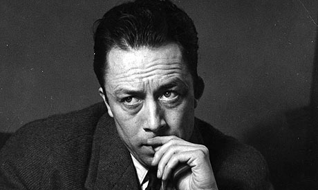 Albert Camus thinking