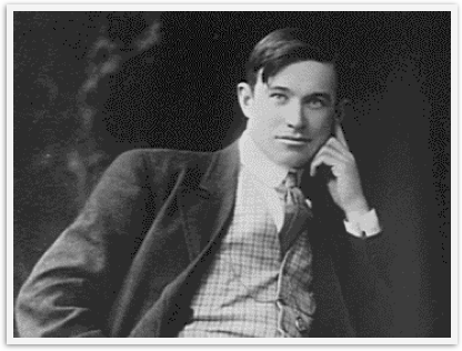 Will Rogers as a young man in suit