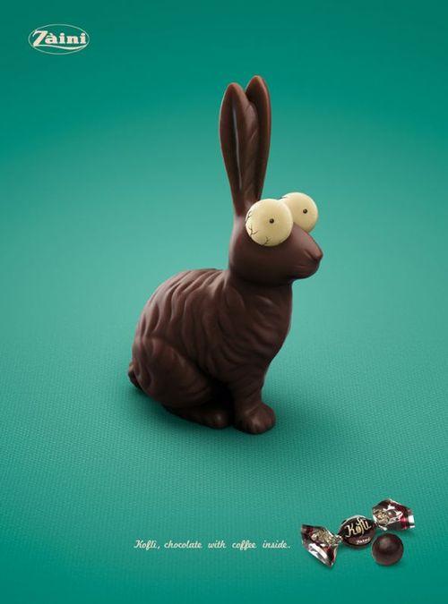 Kofli ads for caffeine and chocolate
