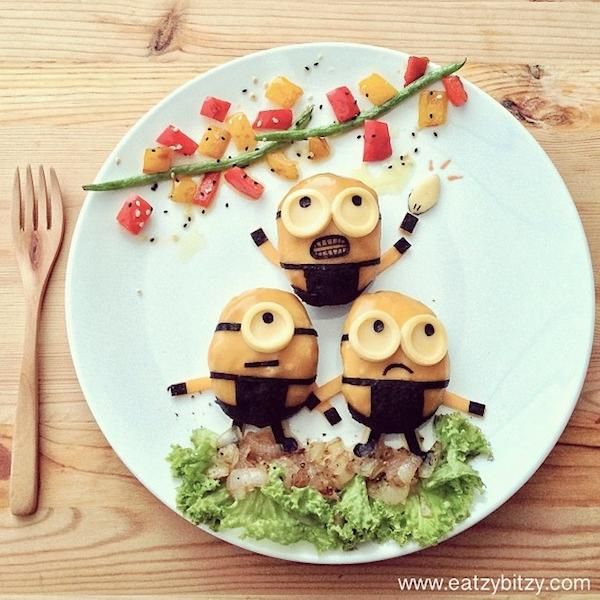 Minions on my plate