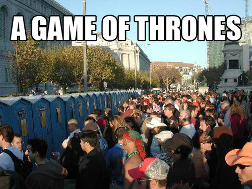 Another game of thrones