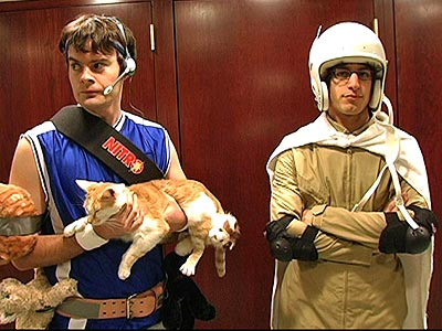Bill Hader Andy Samberg space cats