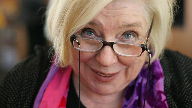 Fay Weldon glasses