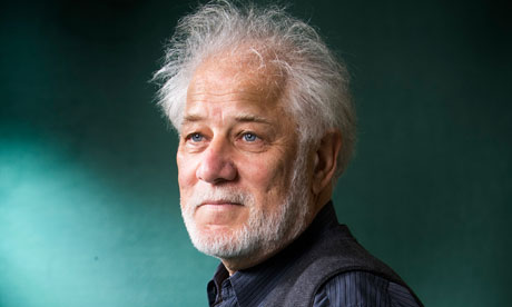Michael Ondaatje green background Guardian