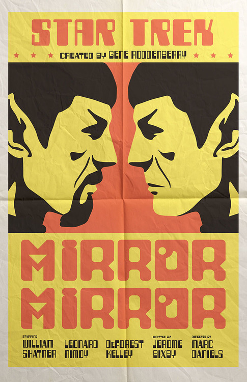 STar Trek Mirror Mirror poster