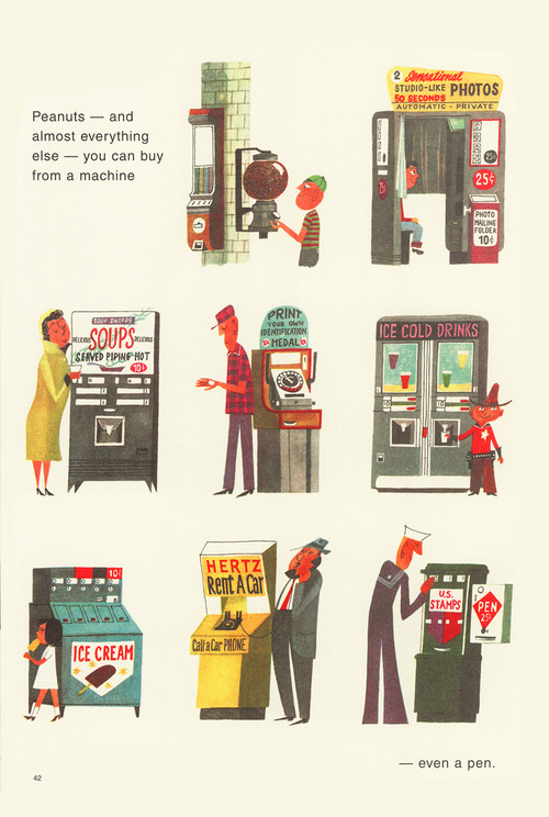 Vending machines 1960