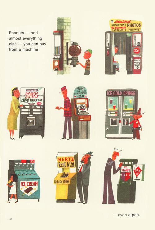 Vending machines 1960