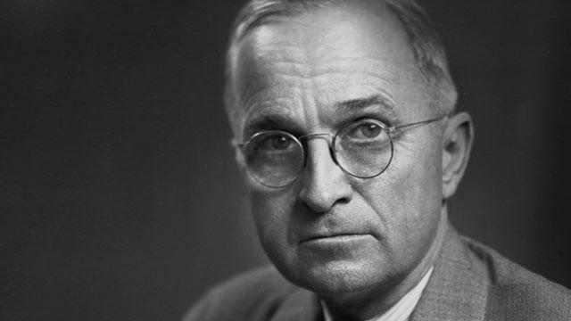 Harry S Truman round eyeglasses