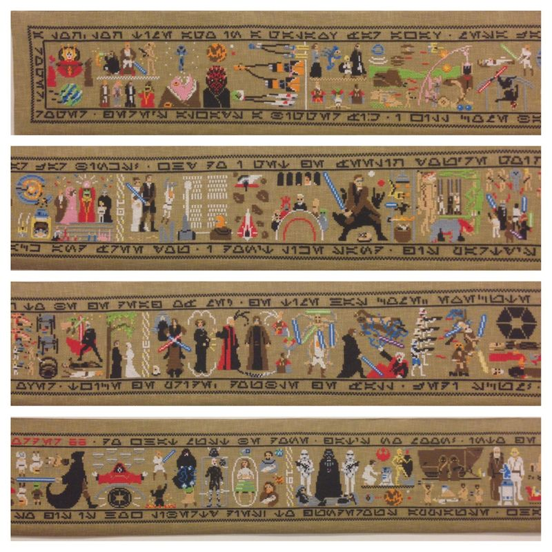 Star Wars tapestry large