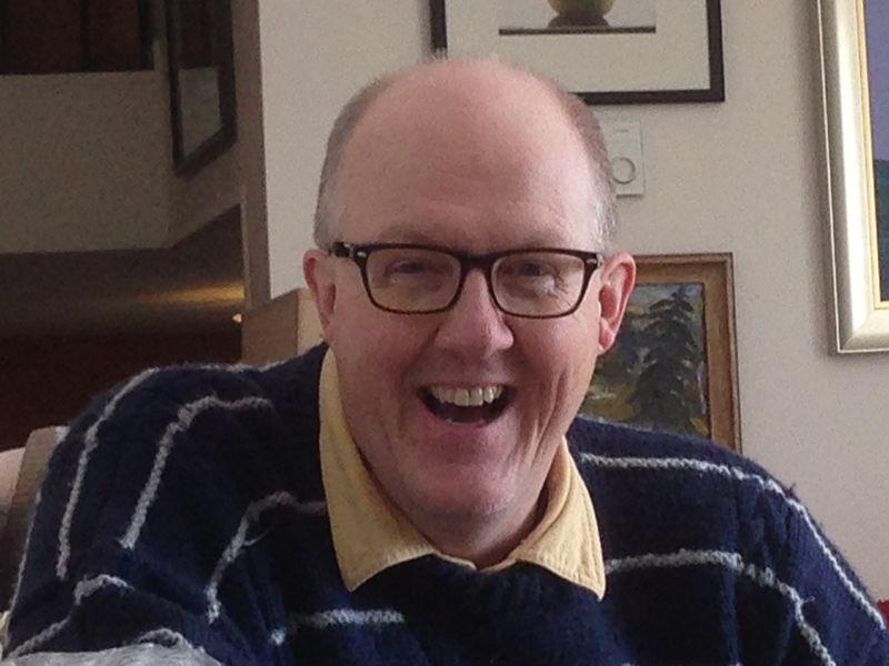John with new specs